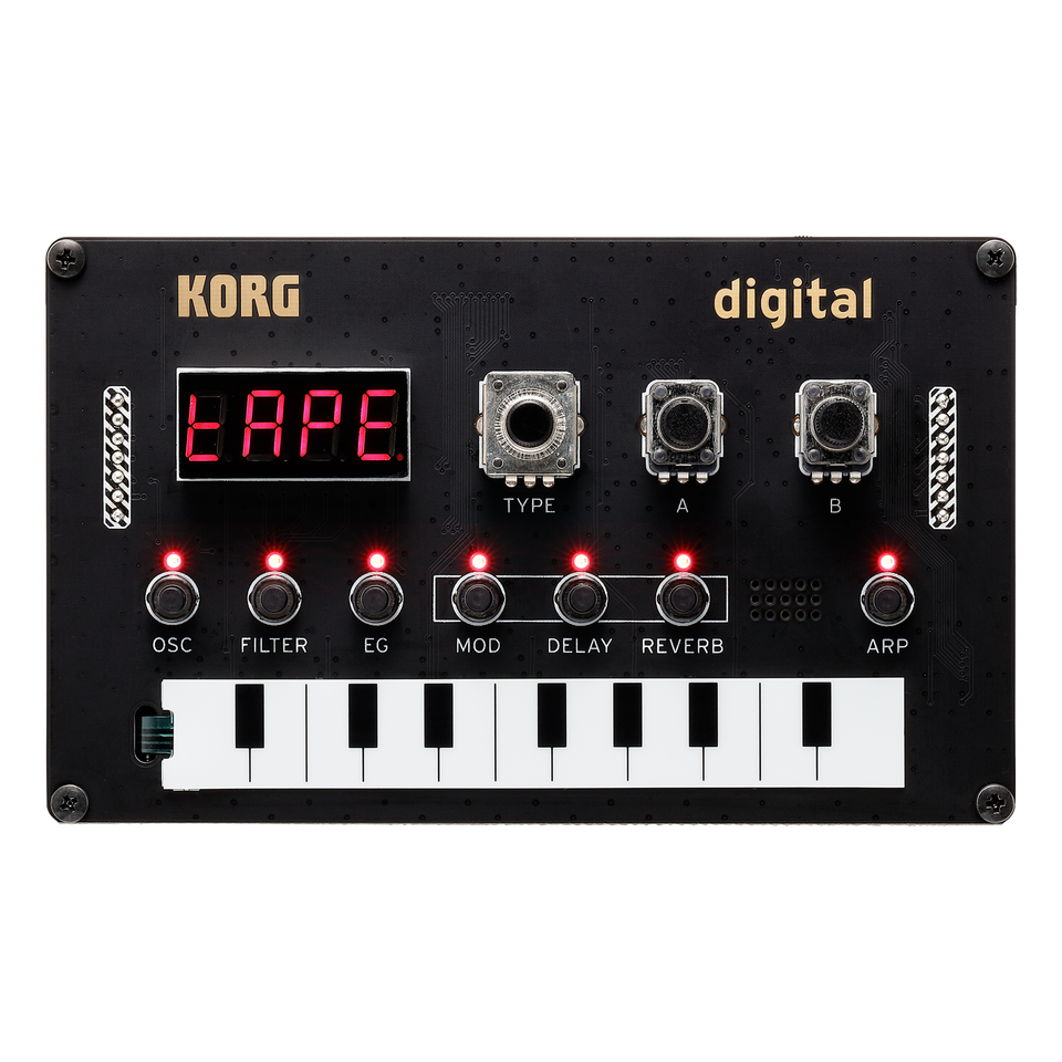 Korg Nu:Tekt NTS-1 DIY Digital Synthesizer Kit