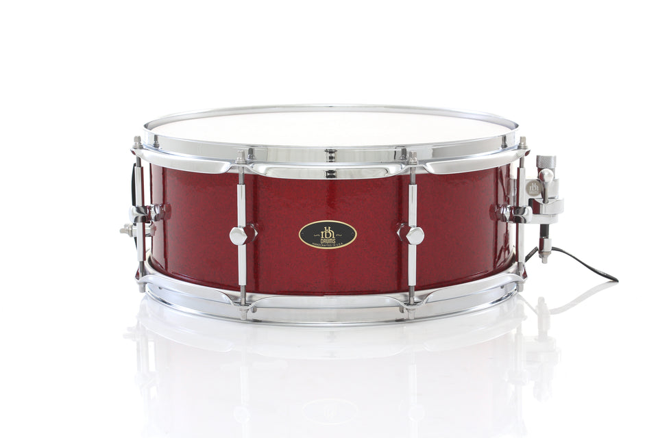 "RBH Drums 14"" x 5.5"" Prestige Snare Drum - Ruby Sparkle"
