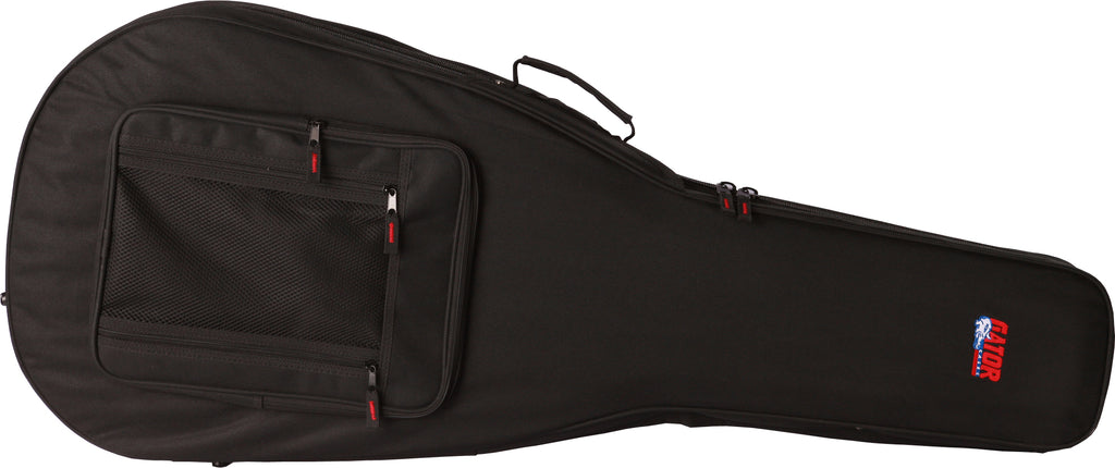 Gator GL-JUMBO Rigid EPS Polyfoam Lightweight Case For Jumbo Acoustic Guitars