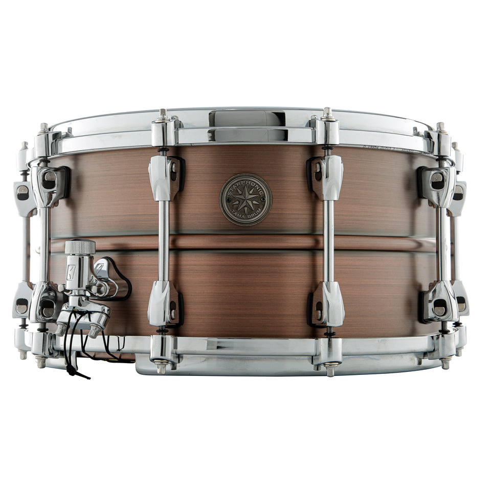 "Tama 14"" x 7"" Starphonic Copper Snare Drum"