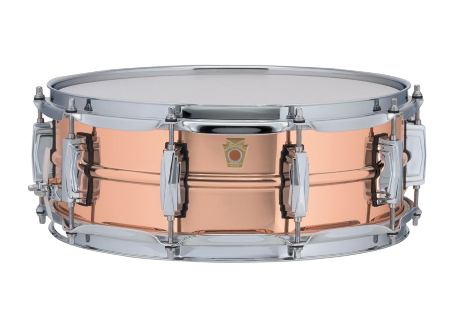 "Ludwig 14"" x 5"" Copper Phonic Snare Drum - Polished"