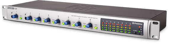 PreSonus 8-Channel Mic Preamp and Audio Interface
