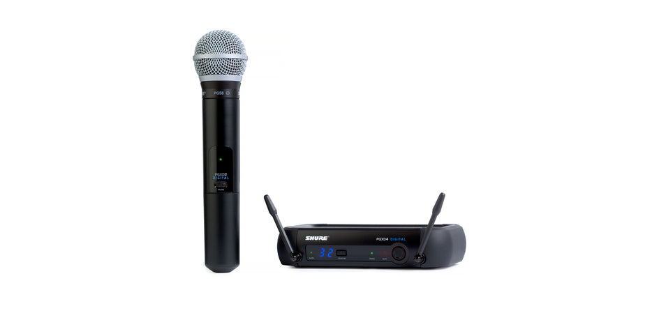 Shure PGXD24/PG58-X8 Digital Wireless System - X8 Frequency Band