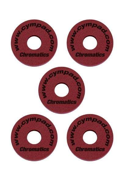 Cympad Chromatics Cymbal Enhancer Set - 40/15mm, Crimson