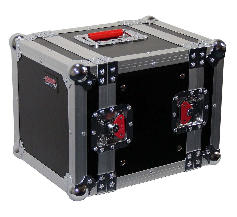 Gator Cases G-TOUR 6UHR ATA Wood Flight Half Rack Case