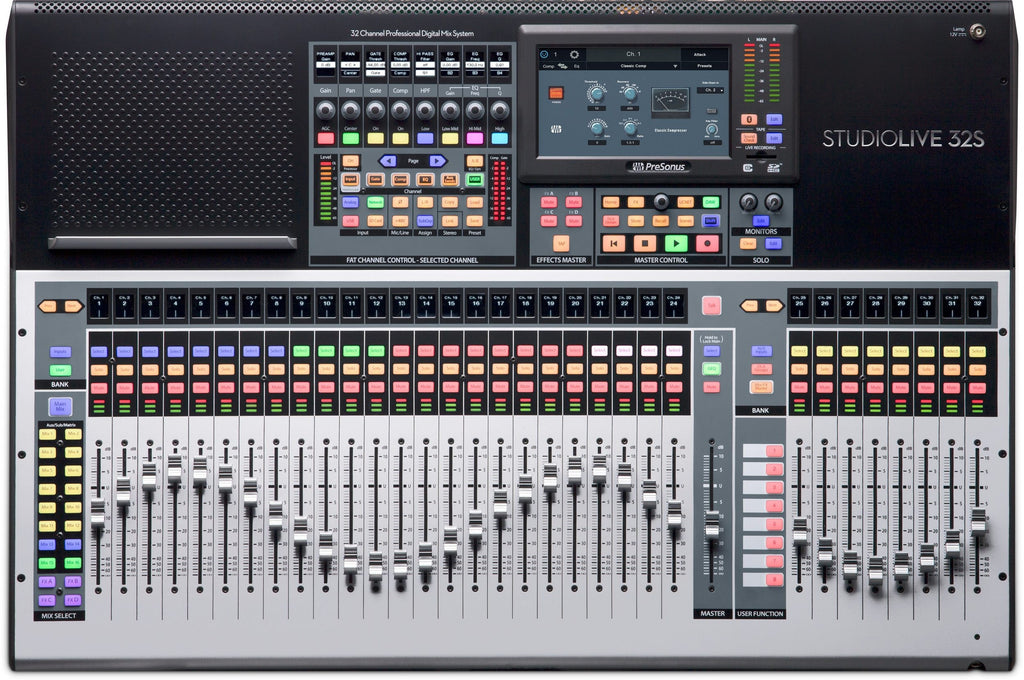 PreSonus StudioLive 32S 32-Channel Digital Mixer & USB Audio Interface