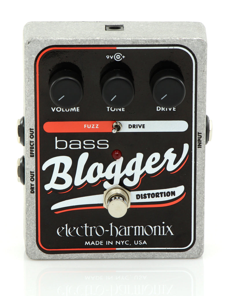 electro harmonix bass blogger distortion overdrive pedal chuck levin. Black Bedroom Furniture Sets. Home Design Ideas