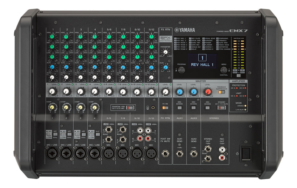 Yamaha EMX7 Portable PA W/ Built In Mixer