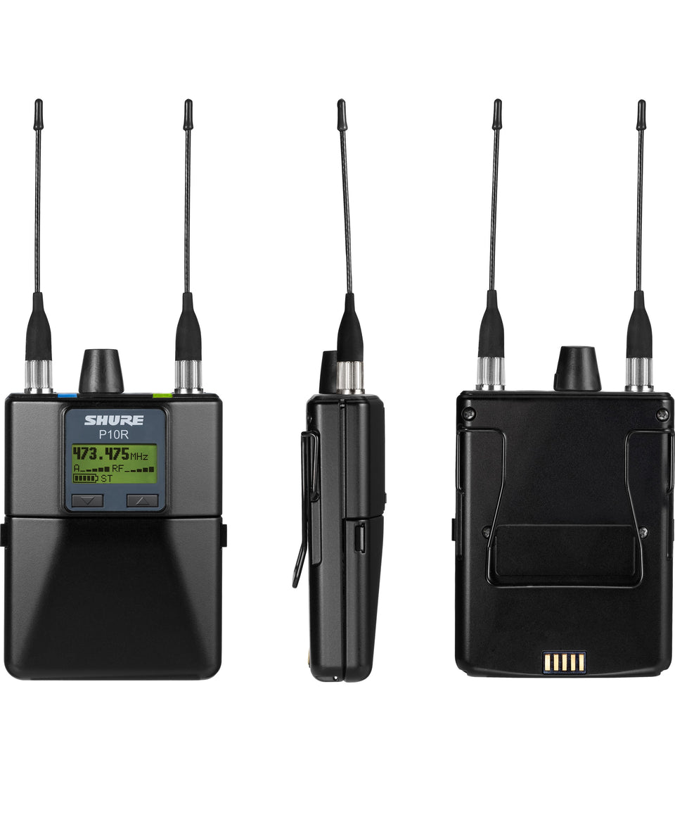 Shure P10R+=-G10 Diversity Wireless Bodypack Receiver