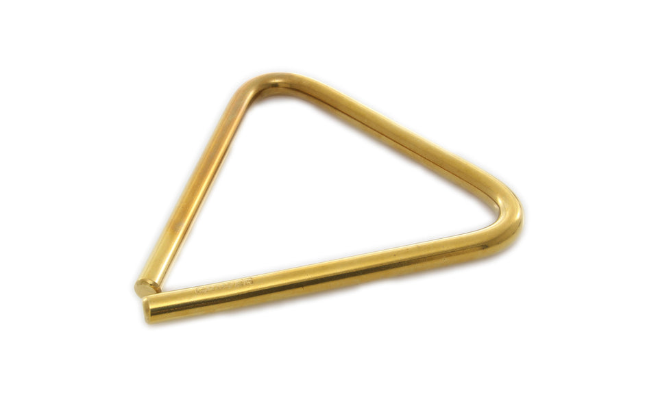 "Grover TR-B-5 5"" Bronze Concert Triangle"