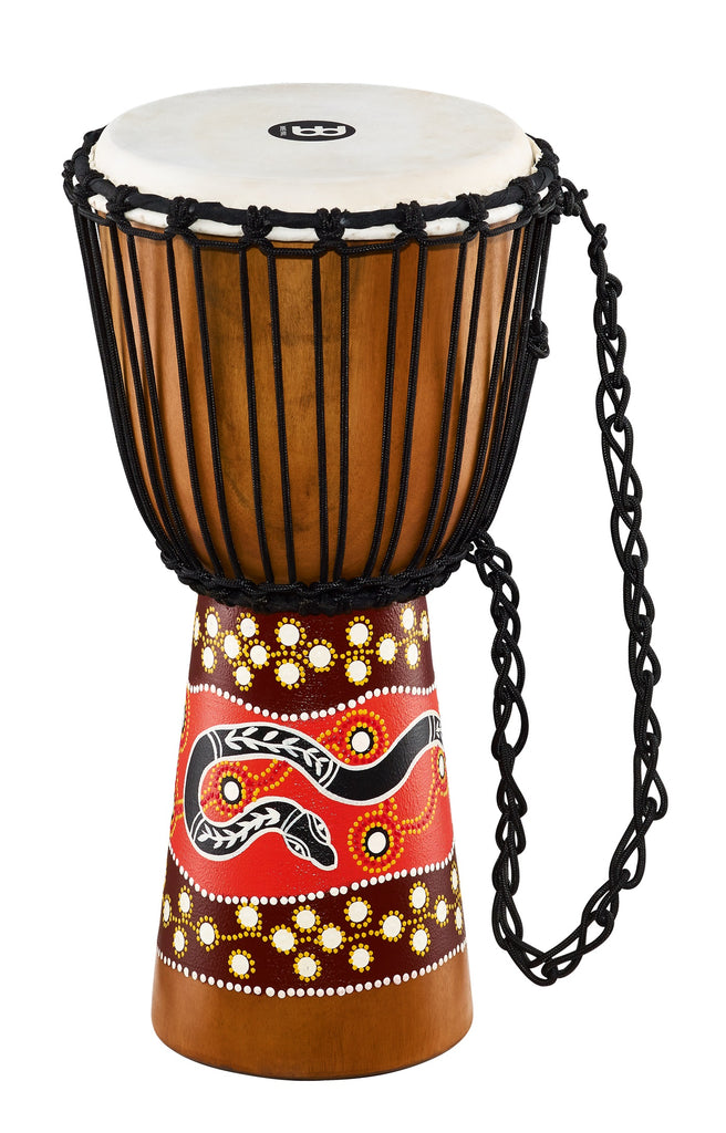 Meinl HDJ5-M Rope Tuned Headliner Series Wood Djembe Phyton Series 10""