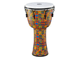 Meinl Mechanical Tuned Travel Series Djembe, Synthetic Head - 10 in