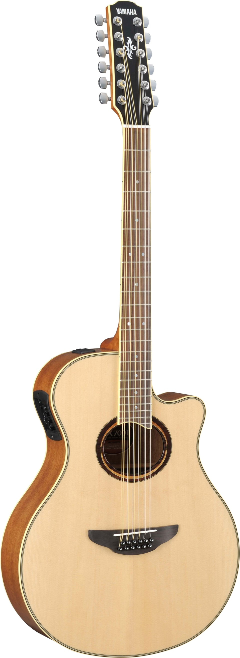 Yamaha APX700II-12 12-String Thinline Acoustic-Electric Guitar