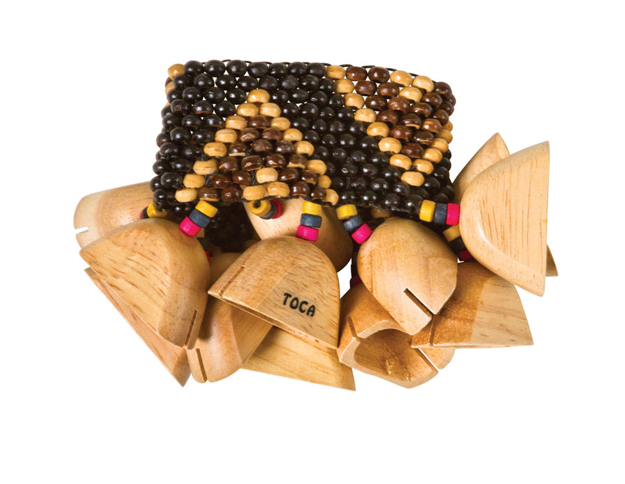 Toca T-WRA Wooden Rattle for Ankle or Wrist