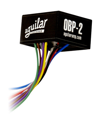 Aguilar OBP-2SK 2-Band On-Board Preamp W/ Stacked Treble/Bass Pot