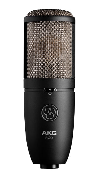 AKG P420 TRUE Condenser Multi-Pattern Microphone