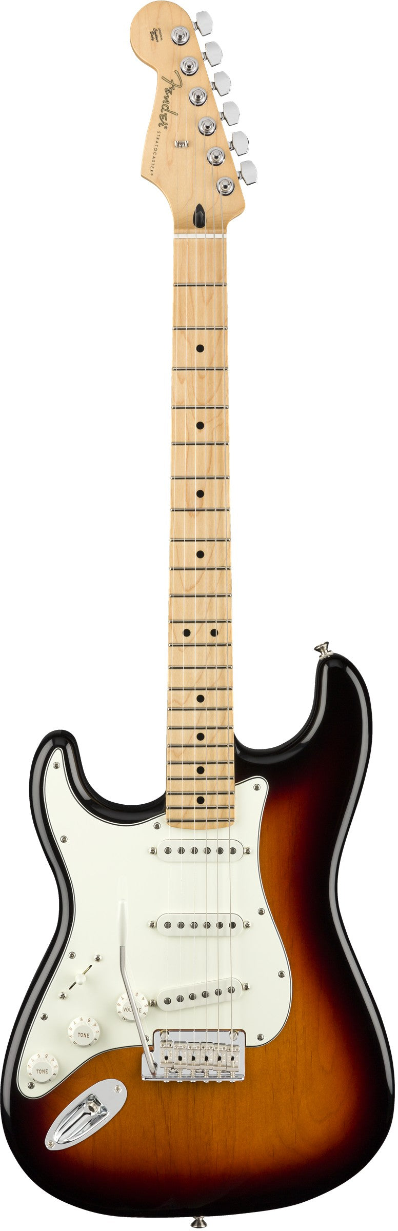Fender Player Stratocaster Electric Guitar, Left Handed, Maple Fingerboard