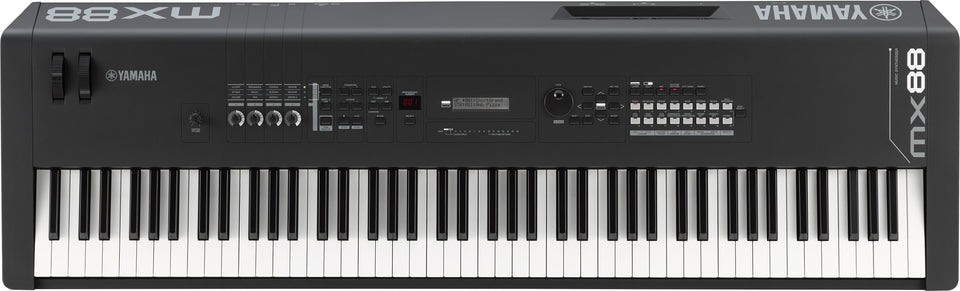 Yamaha MX88 BK 88 Key Synthesizer Workstation Keyboard