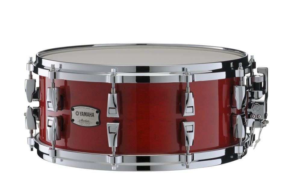 "Yamaha 14"" x 6"" Absolute Hybrid Series Snare Drum - Red Autumn"