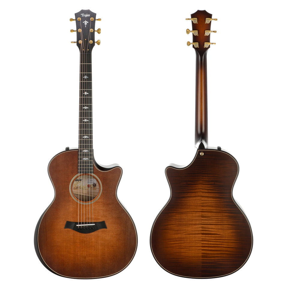 Taylor Builder's Edition 614ce Acoustic Electric Guitar - Wild Honey Burst