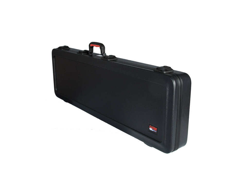 Gator GPE-BASS-TSA ATA Molded Military-Grade PE Case With TSA Latches For Bass Guitars