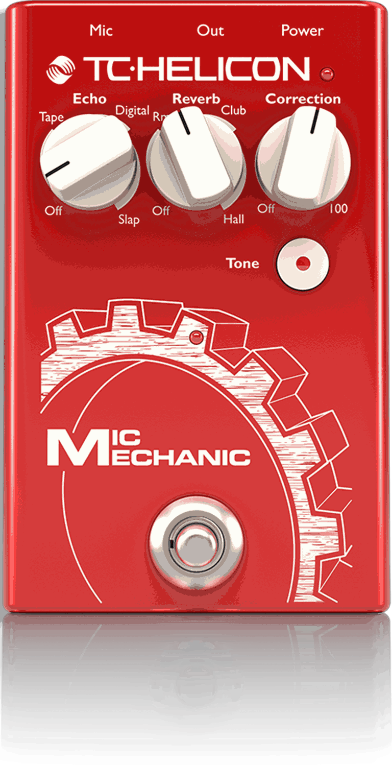 TC Helicon Mic Mechanic 2 Vocal FX Pedal