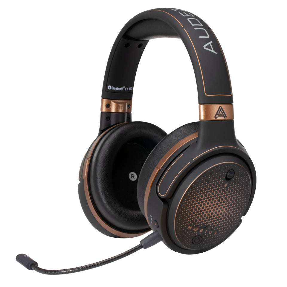 Audeze Mobius Planar Magnetic Headphones - Copper