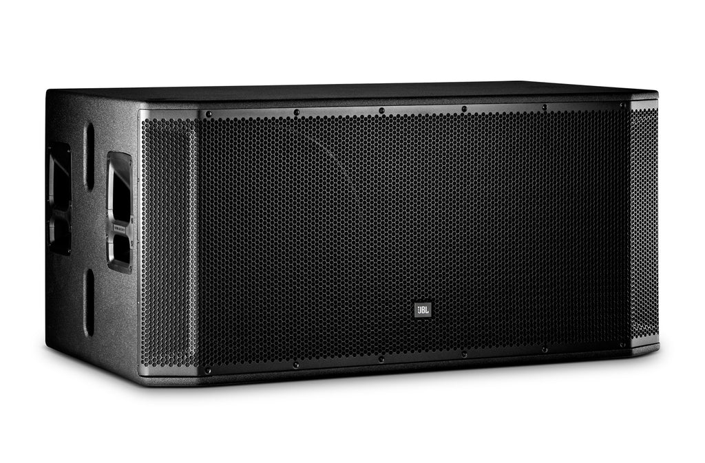 "JBL SRX828SP Dual 18"" Self-Powered Subwoofer System"