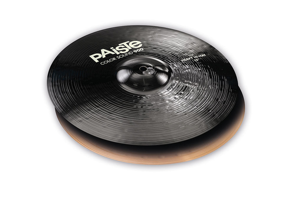 Paiste Color Sound 900 Series Heavy Hi Hats - Black