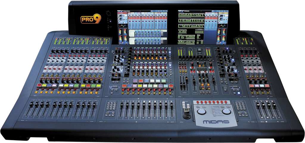 Midas PRO9-CC-TP Digital Console - Tour Package