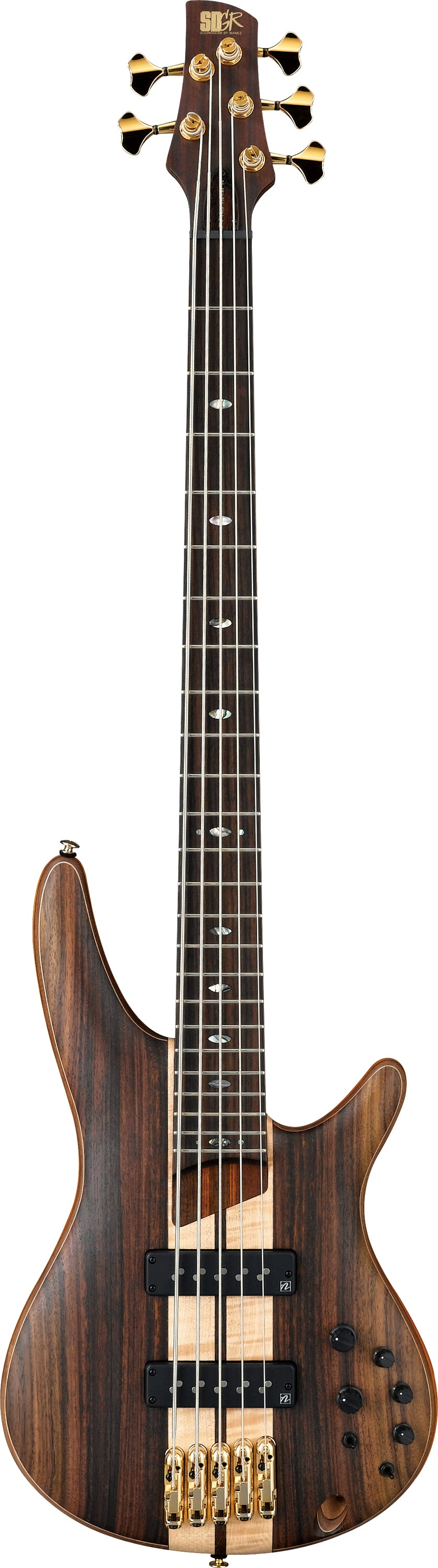 Ibanez SR1805E Premium Electric Bass Guitar - Natural Flat