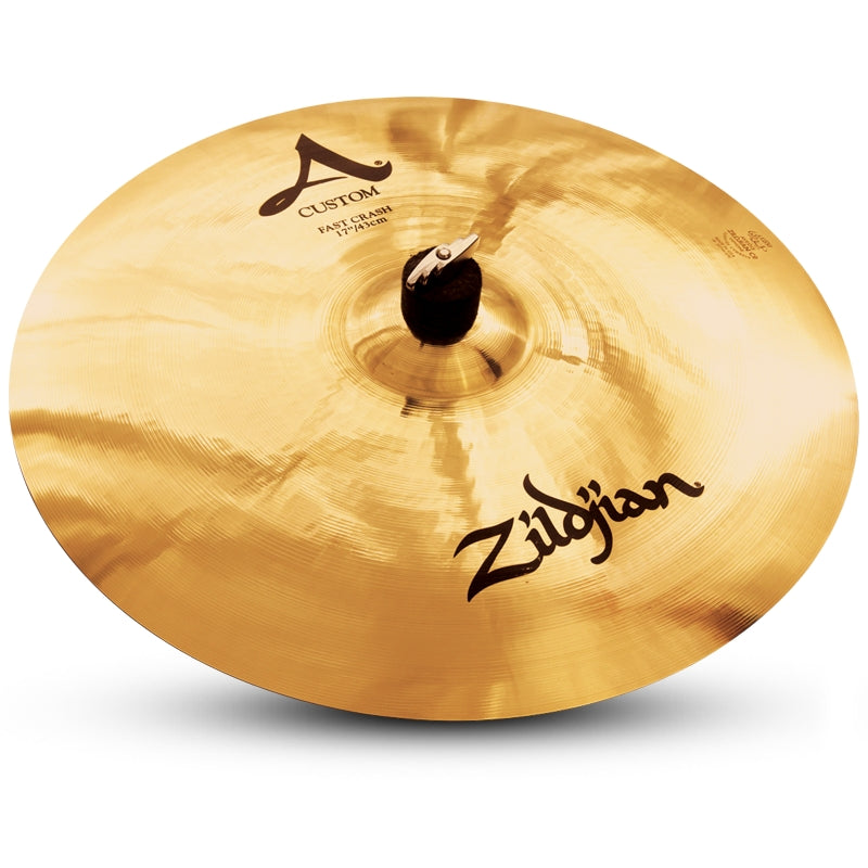 "Zildjian 17"" A Custom Fast Crash Cymbal"