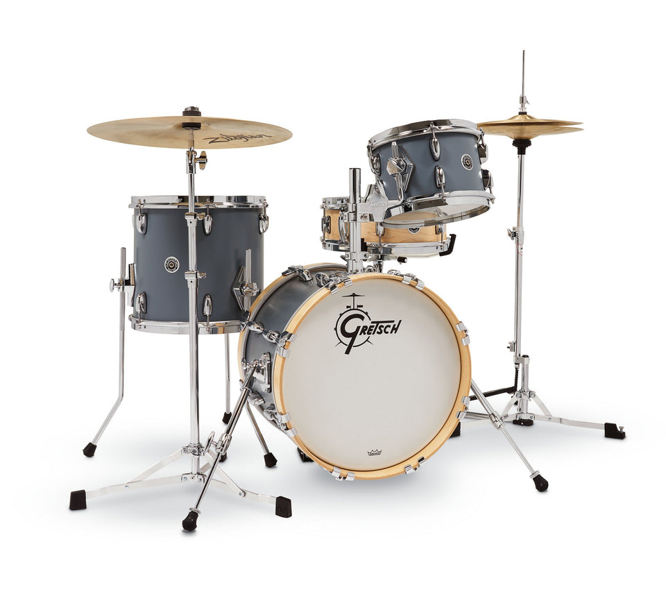 Gretsch Brooklyn Micro Kit 4-Piece Shell Pack - Satin Grey