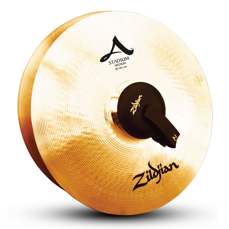 "Zildjian 18"" A Stadium Medium Cymbals - Pair"