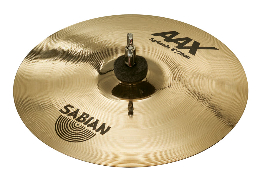 "Sabian 8"" AAX Splash Cymbal Brilliant Finish"