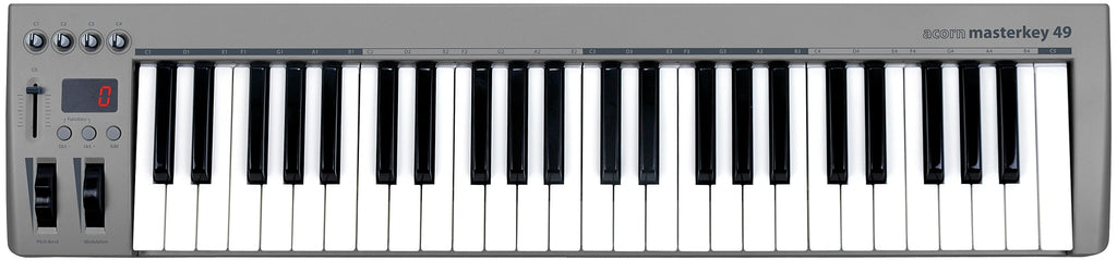 Acorn Instruments Masterkey49 49-Key USB MIDI Controller Keyboard