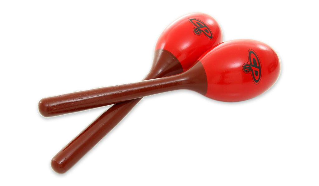 LP CP281 Medium CP Wood Maracas - Red