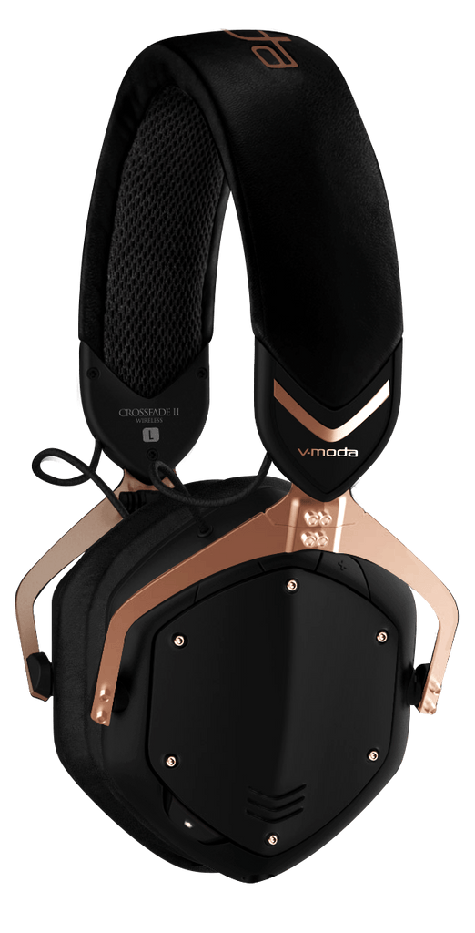 V-Moda Crossfade 2 Wireless BT Over-Ear Headphones - Gold
