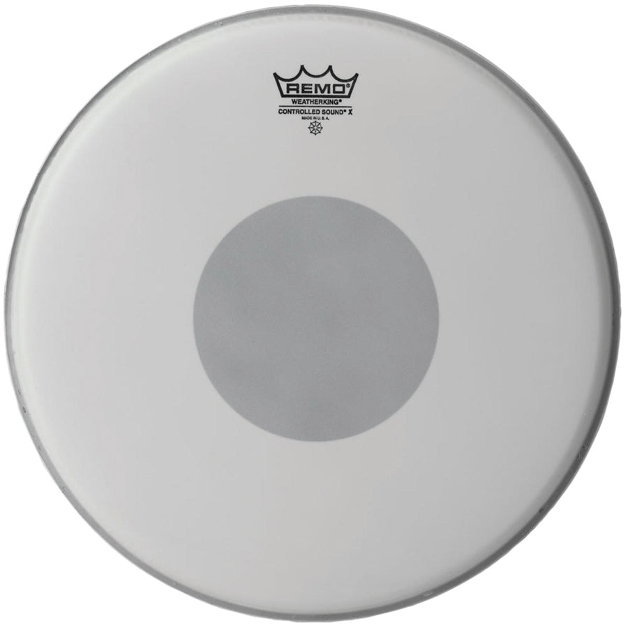 Remo Controlled Sound X Coated Black Dot Drum Head