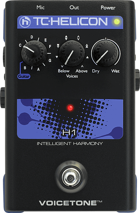 TC Helicon VoiceTone H1 Intelligent Harmony Pedal