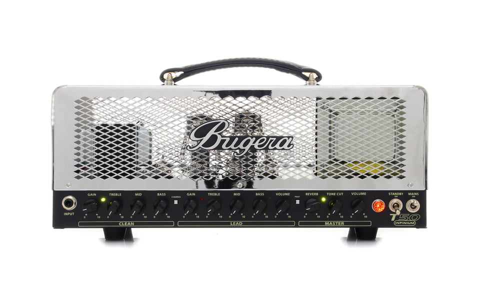 Bugera T50 Infinium Guitar Amplifer Head - Tube