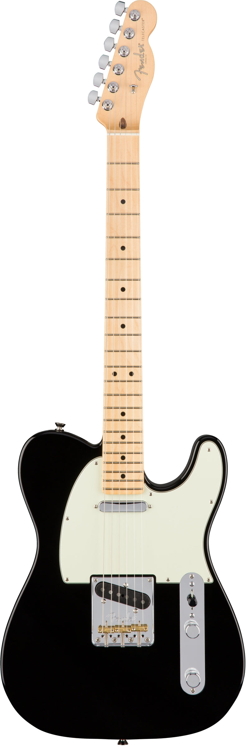 "Fender American Professional Telecaster w/ ""Deep C"" Neck - Maple Fingerboard, Black"