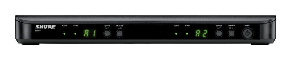 Shure BLX88 Dual Channel Wireless Receiver