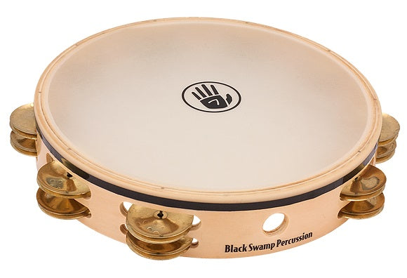 "Black Swamp TDOV Overture Series 10"" Double Row Tambourine - Brass"