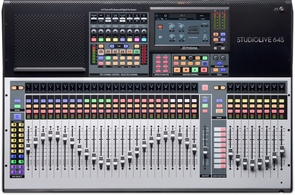 PreSonus StudioLive 64S 64-Channel Digital Mixer & USB Audio Interface