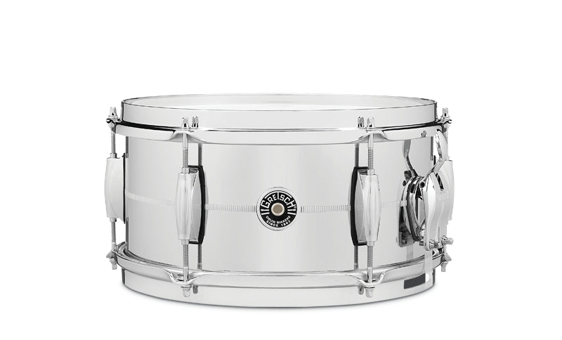 "Gretsch 12"" x 6"" Brooklyn Series Chrome Over Steel Snare Drum"