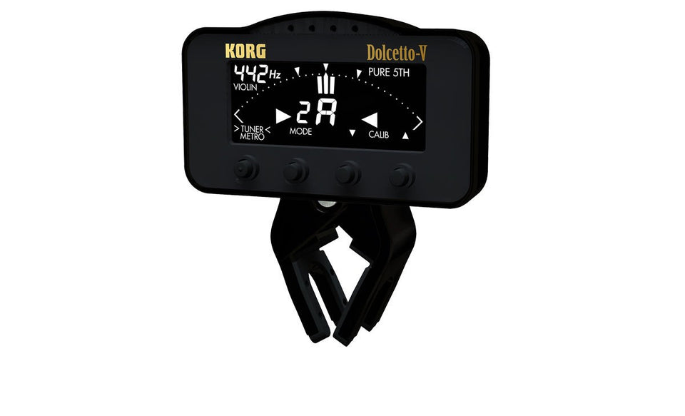 Korg AW3V Dolcetto Clip On Tuner And Metronome - Violin/Viola