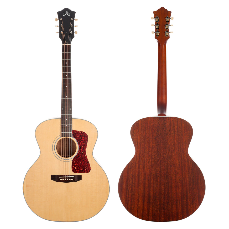 Guild F-40E Sitka Spruce Jumbo Acoustic Electric Guitar - Natural