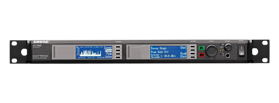 Shure Axient AXT600US Spectrum Manager