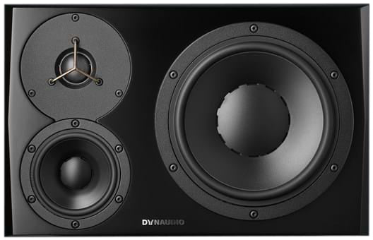 Dynaudio Professional LYD-48B/L 3-Way Reference Monitor - Black, Left